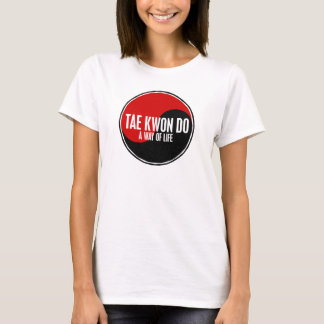 Yin Yang Tae Kwon Do 1 T-Shirt