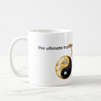 Yin Yang Tao Bike Zings Zen Coffee Mug