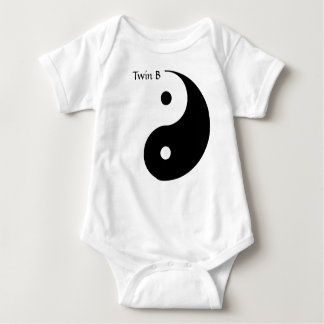 Yin Yang Tee for Twins - Twin B