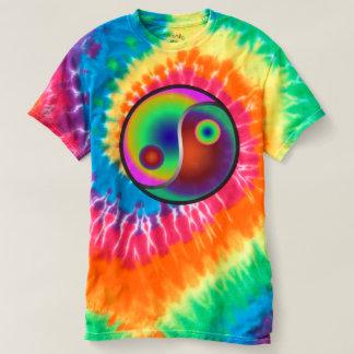 Yin Yang Tie Dye Men T-Shirt. T-shirt