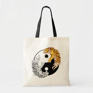 Yin & Yang Tigers Budget Tote