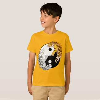 Yin & Yang Tigers Kids' T-Shirt