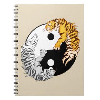 Yin & Yang Tigers Photo Notebook