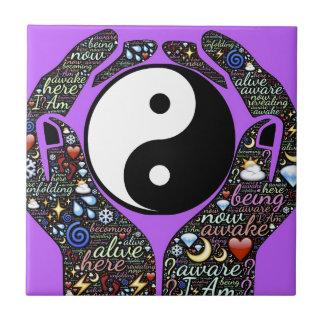 Yin, Yang Tile