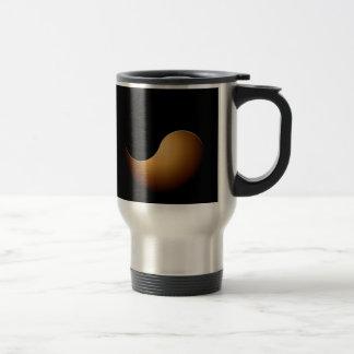 yin yang - toffee travel mug