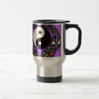 Yin, Yang Travel Mug