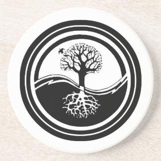 Yin Yang Tree Coaster