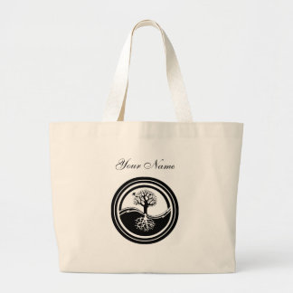 Yin Yang Tree Design Bag