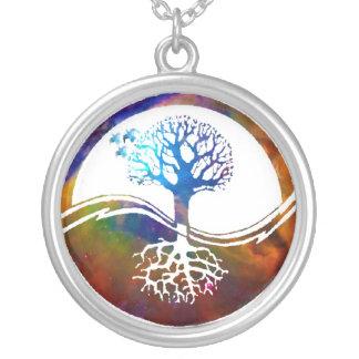 Yin Yang Tree Necklace