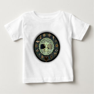 Yin Yang Tree of Life Symbol Baby T-Shirt