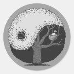 Yin Yang Tree Stickers