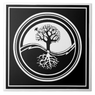 Yin Yang Tree Tile