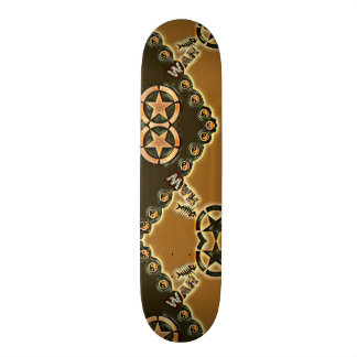 Yin Yang Tribal Element War Custom Pro Park Board Custom Skateboard