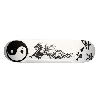 Yin Yang Tribal Skateboard