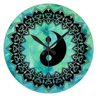 Yin Yang Turquoise  1702815 Wall Clock