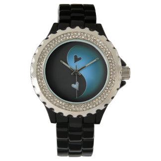 yin yang - turquoise watch