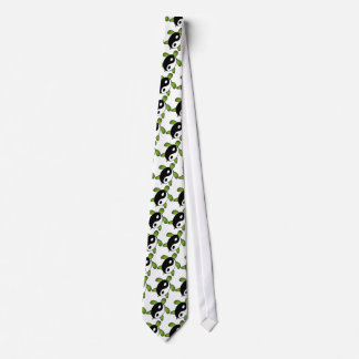 Yin Yang Turtle Tie