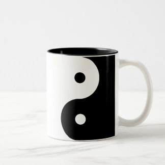 Yin-Yang Two-Tone Coffee Mug