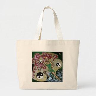 Yin Yang Vivian Large Tote Bag
