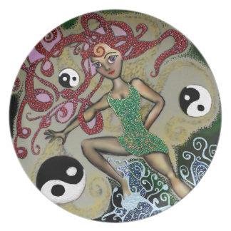 Yin Yang Vivian Party Plates