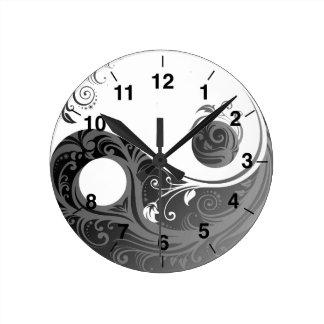 Yin And Yang Clocks High Quality Yin And Yang Wall Clocks