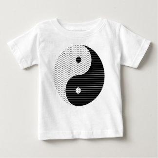 Yin Yang Waves Baby T-Shirt