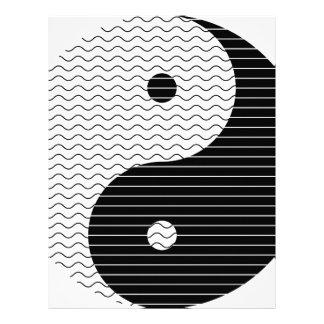 Yin Yang Waves Letterhead
