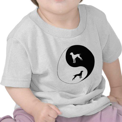 Yin Yang Weimaraner Shirts