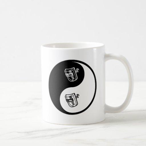Yin Yang Welding Coffee Mugs