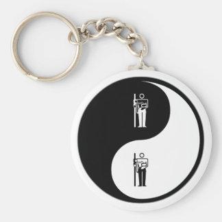 Yin Yang X-Ray Keychain