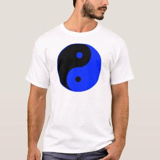 Yin Yang Ying Taoism Sign Chinese Taijitu Blue T-Shirt
