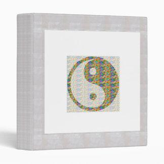 YIN YANG YinYang Balance Chinese Symbol Oriental A Vinyl Binder