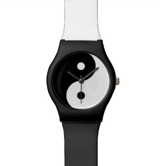 yin-yang  yoga symbol watch