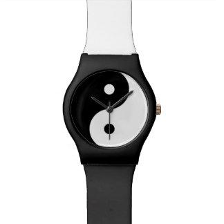 yin-yang  yoga symbol watches