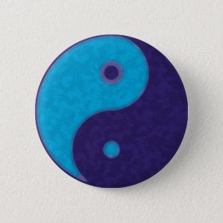 yin yang zen meditation tao 2 inch round button