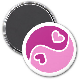 Ying And Yang Of Love Magnet