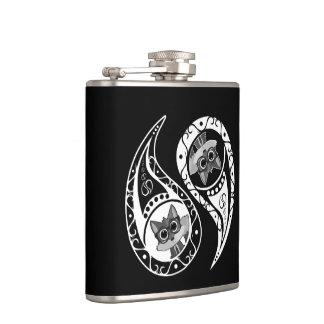 Ying Yang - Fox Nerd Hip Flask