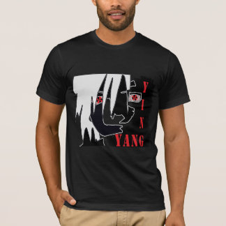 Ying-Yang T in Black T-Shirt