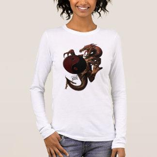 YingYang Dragon Long sleeve Shirt