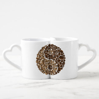 YinYang Coffee Beans Coffee Mug Set