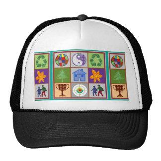 YinYang Happy World Couple Home Focus Award Yang Trucker Hat