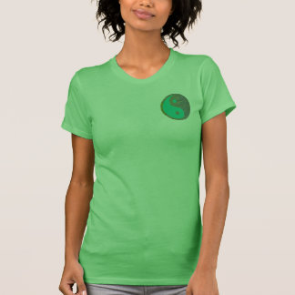 YinYang Style: Women's American Apparel Fine Jerse T-Shirt