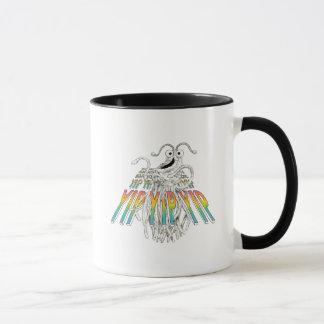 Yip Yips B&W Sketch Drawing Mug