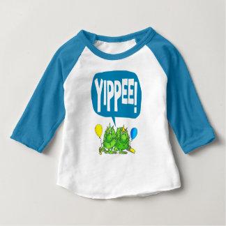 Yippee (white) baby T-Shirt