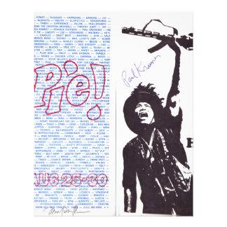 yippie! - chicago aug 1968 flyer letterhead
