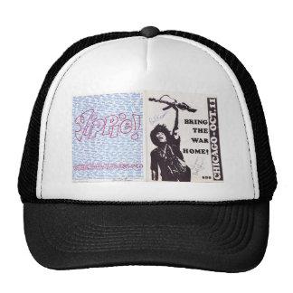 yippie! - chicago aug 1968 flyer trucker hat