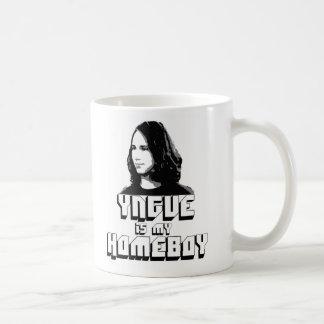 YNGVE IS MY HOMEBOY BASIC WHITE MUG