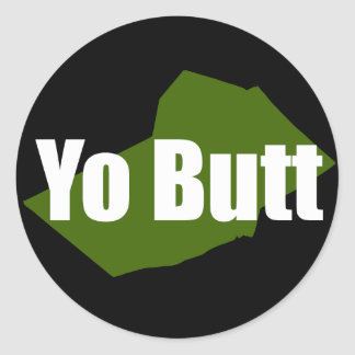 Yo Butt - Skook Sticker