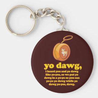 yo dawg, i heard you and yo dawg like yo-yos key chains