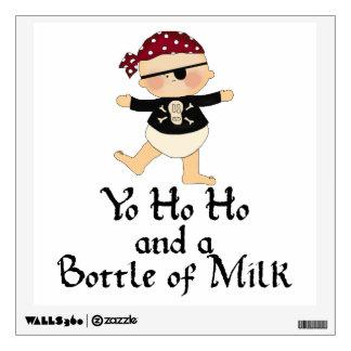 Yo Ho Ho Pirate Baby Wall Sticker